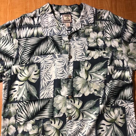 d8c3c4a9 Tommy Bahama Shirts | Hawaiian Shirt Mens L 100 Silk | Poshmark